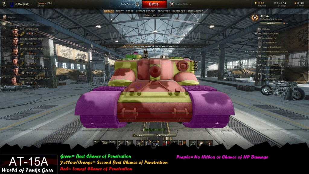 world of tanks premium tank matchmaking